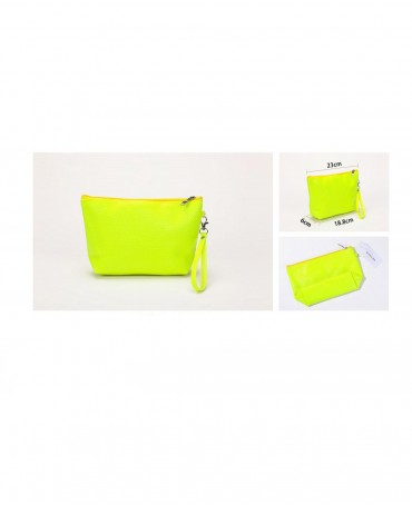 BEAUTY BAG FLUO YELLOW