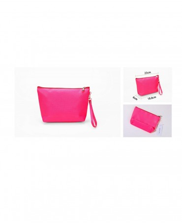 BEAUTY BAG FLUO PINK