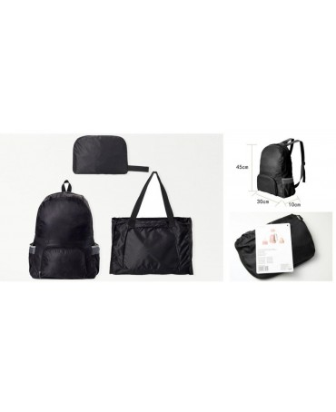 ZAINO/BORSA MAGIC 3in1 BLACK