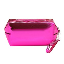 METALLIC PINK BEAUTY CASE