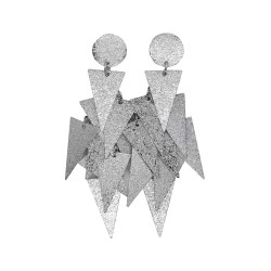 EARRINGS Triangular Pyramid...